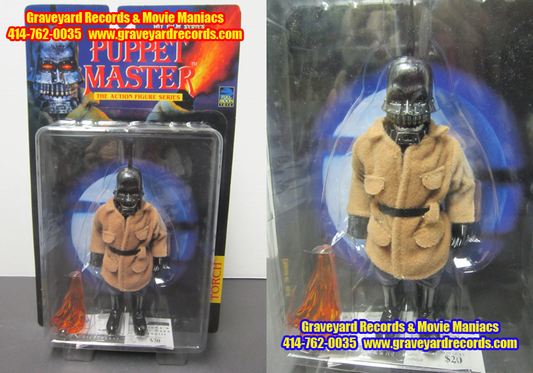 "8"" Puppet Master - Torch 1st Edition "" Blue Card"" Figure"